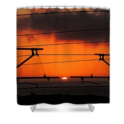 Top Notch Spot Shower Curtain