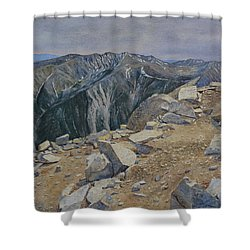Top Of Mt. Princeton Shower Curtain