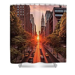 Top Of New York Shower Curtain