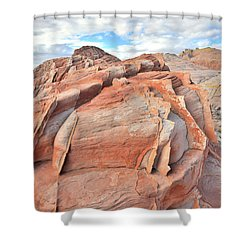 Top Of The World At Valley Of Fire Shower Curtain