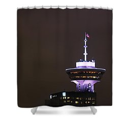 Top Of Vancouver Restaurant Shower Curtain