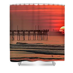 Topsail Moment Shower Curtain