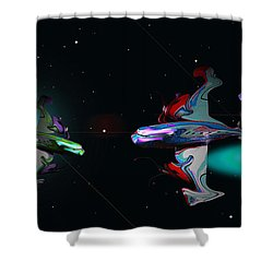Tora Tora Tora Shower Curtain by Charles Stuart