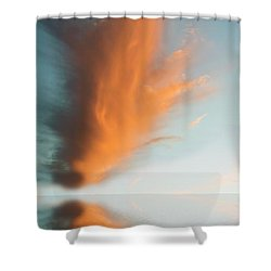 Torch Of Freedom Shower Curtain by Jerry McElroy