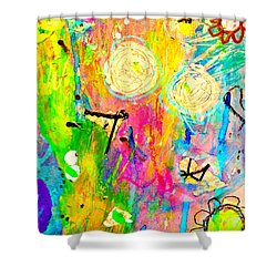Tori And Me 2 Shower Curtain by Shelley Graham Turner