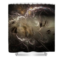 Torn Asunder Shower Curtain by Casey Kotas