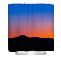 Tornillo Sunset Shower Curtain