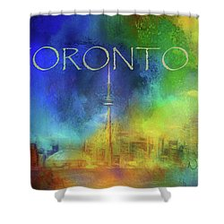 Toronto - Cityscape Shower Curtain