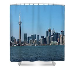 Toronto Cityscape Shower Curtain