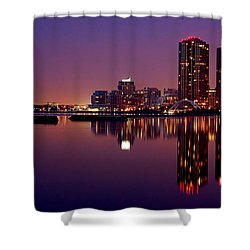 Toronto Cracking Dawn Shower Curtain