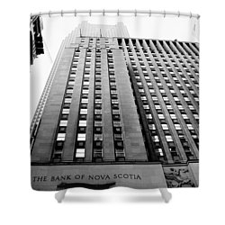 Toronto Historic Building Shower Curtain