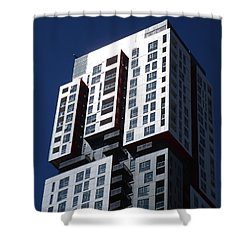 Toronto Skyscrapers 6 Shower Curtain by Randall Weidner