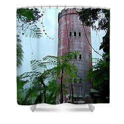 Torre De Observacion Yokahu  Shower Curtain