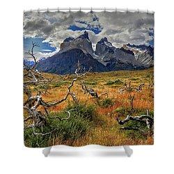 Torres Del Paine 18 Shower Curtain