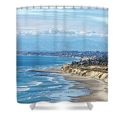 Torrey Pines Shower Curtain
