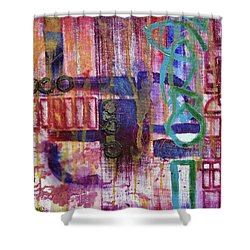 Tortured Links Shower Curtain
