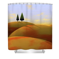 Toscana 1 Shower Curtain