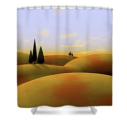 Toscana 3 Shower Curtain