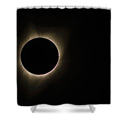 Totality Shower Curtain by Joe Hudspeth