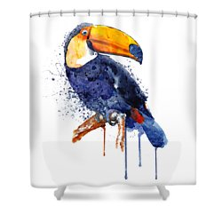 Toucan Shower Curtain
