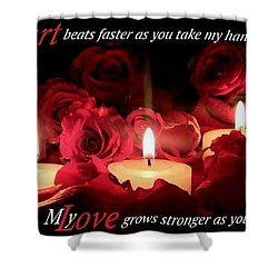 Shower Curtain featuring the photograph Touch My Soul by David Norman