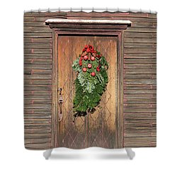 Touch Of Christmas Shower Curtain