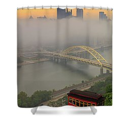 Touch Of Fog  Shower Curtain