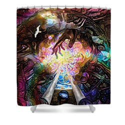 Touch Of God Shower Curtain