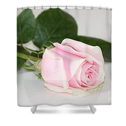 Shower Curtain featuring the photograph Touch Of Love by Anita Oakley