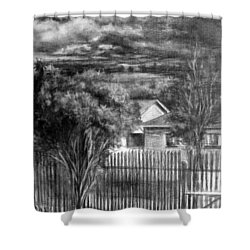 Touch Of The Sun In Gloomy Day Shower Curtain