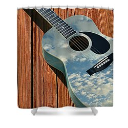 Shower Curtain featuring the photograph Touch The Sky by Laura Fasulo