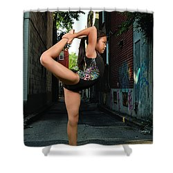 Shower Curtain featuring the photograph Touching The Ponytail by Robert Hebert
