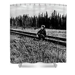 Shower Curtain featuring the photograph Tough Times by Tara Lynn