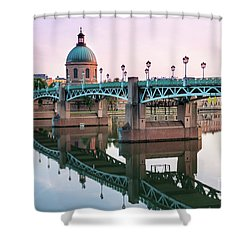 Shower Curtain featuring the photograph Toulouse At Sunset by Elena Elisseeva