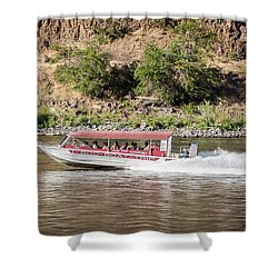 Tour Boat Shower Curtain