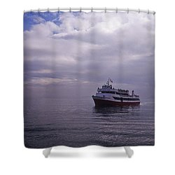 Tour Boat San Francisco Bay Shower Curtain