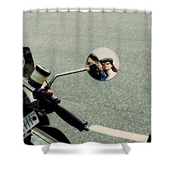 Touring With Your Honey Shower Curtain