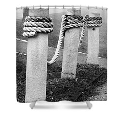 Tow The Line Shower Curtain