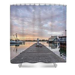 Shower Curtain featuring the photograph Toward The Dusk by Greg Nyquist