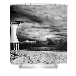 Tower 3 Shower Curtain