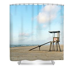 Tower #9 Shower Curtain