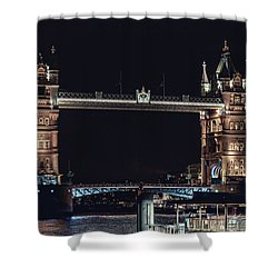 Tower Bridge 4 Shower Curtain