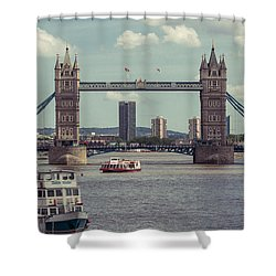 Tower Bridge B Shower Curtain