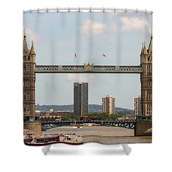 Tower Bridge C Shower Curtain