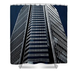 Shower Curtain featuring the photograph Tower by Eric Christopher Jackson