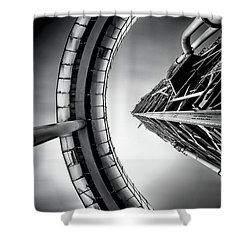Tower Shower Curtain by Jorge Maia