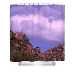 Tower Mountain Shower Curtain
