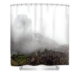 Shower Curtain featuring the photograph Watch The Clouds Roll By by Dana DiPasquale