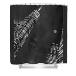 Tower Nights Shower Curtain