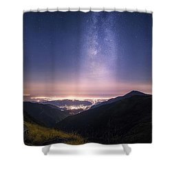 Tower Of Infinity Shower Curtain
